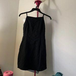 Forever 21 Black Dress Tie Back